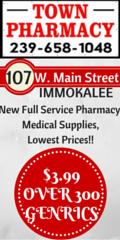 Town Pharmacy side